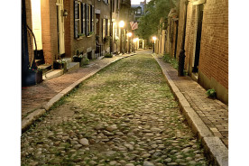 Acorn-St-Night--Boston-
