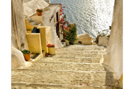 steps--santorini-Greece-